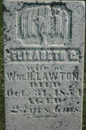 LAWTON, ELIZABETH G. - Clinton County, Iowa | ELIZABETH G. LAWTON