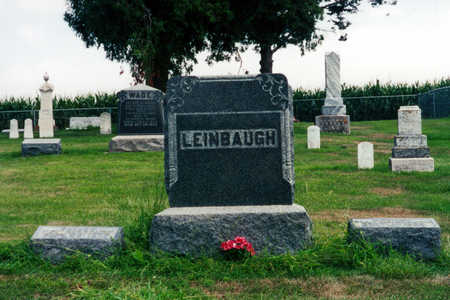LEINBAUGH, JENNIE MAY - Clinton County, Iowa | JENNIE MAY LEINBAUGH
