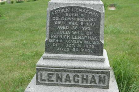LENAGHAN, PATRICK - Clinton County, Iowa | PATRICK LENAGHAN