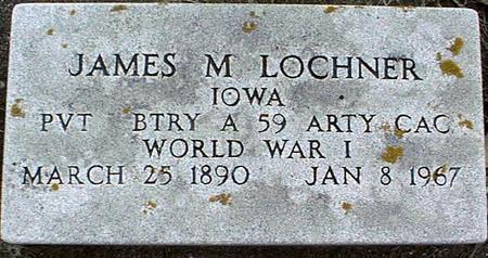 LOCHNER, JAMES M. - Clinton County, Iowa | JAMES M. LOCHNER