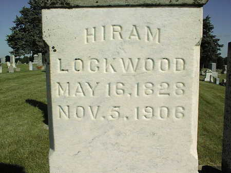 LOCKWOOD, HIRAM - Clinton County, Iowa | HIRAM LOCKWOOD