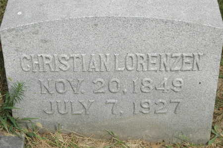 LORENZEN, CHRISTIAN - Clinton County, Iowa | CHRISTIAN LORENZEN