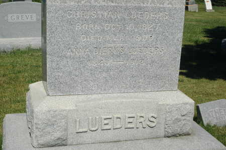 LUEDERS, ANNA - Clinton County, Iowa | ANNA LUEDERS