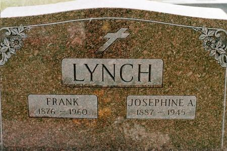 WALTON LYNCH, JOSEPHINE A. - Clinton County, Iowa | JOSEPHINE A. WALTON LYNCH