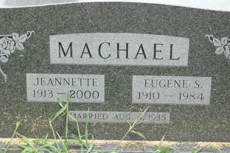 MACHAEL, EUGENE S - Clinton County, Iowa | EUGENE S MACHAEL