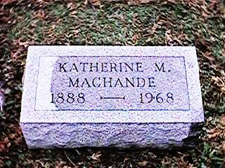MACHANDE, KATHERINE M - Clinton County, Iowa | KATHERINE M MACHANDE