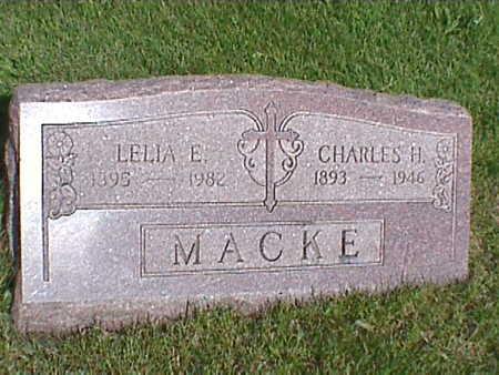 MACKE, LELIA - Clinton County, Iowa | LELIA MACKE