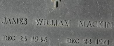 MACKIN, JAMES WILLIAM - Clinton County, Iowa | JAMES WILLIAM MACKIN