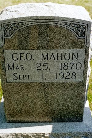 MAHON, GEORGE - Clinton County, Iowa | GEORGE MAHON