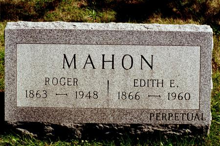 MAHON, EDITH E. - Clinton County, Iowa | EDITH E. MAHON