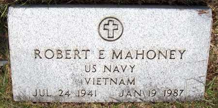 MAHONEY, ROBERT E. - Clinton County, Iowa | ROBERT E. MAHONEY