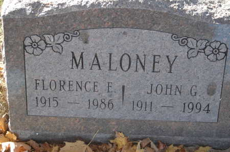 MALONEY, FLORENCE E. - Clinton County, Iowa | FLORENCE E. MALONEY