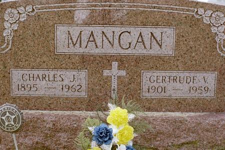 MANGAN, GERTRUDE V. - Clinton County, Iowa | GERTRUDE V. MANGAN