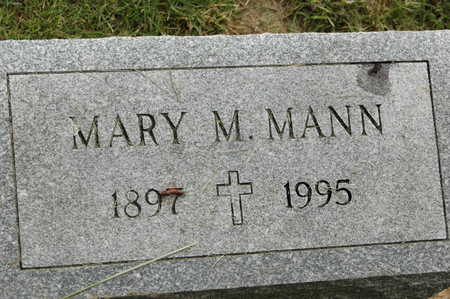 MANN, MARY M. - Clinton County, Iowa | MARY M. MANN