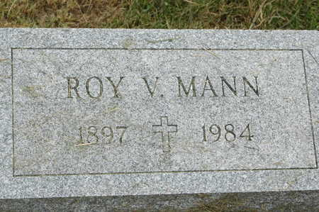MANN, ROY V. - Clinton County, Iowa | ROY V. MANN