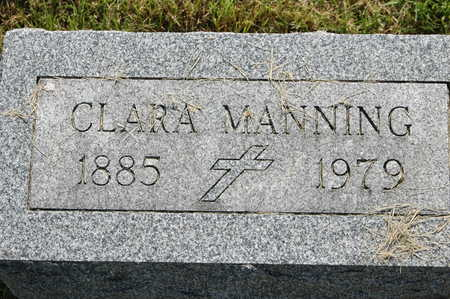 MANEMANN MANNING, CLARA L. - Clinton County, Iowa | CLARA L. MANEMANN MANNING