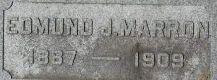 MARRON, EDMUND J. - Clinton County, Iowa | EDMUND J. MARRON