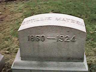 MATZEN, OTTILLIE - Clinton County, Iowa | OTTILLIE MATZEN
