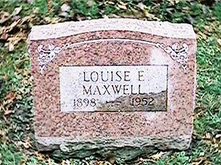 MAXWELL, LOUISE E - Clinton County, Iowa | LOUISE E MAXWELL