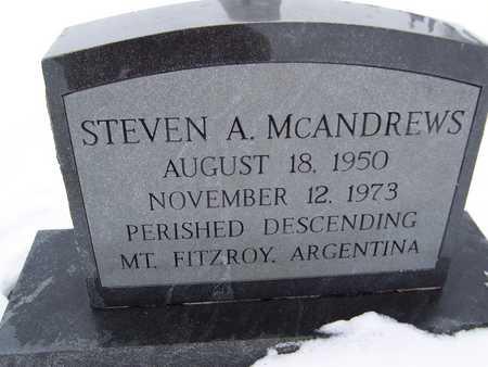 MCANDREWS, STEVEN A. - Clinton County, Iowa | STEVEN A. MCANDREWS