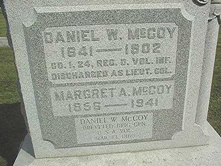 MCCOY, GENERAL DANIEL W. - Clinton County, Iowa | GENERAL DANIEL W. MCCOY