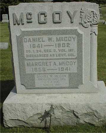 MCCOY, MARGRET A. - Clinton County, Iowa   MARGRET A. MCCOY