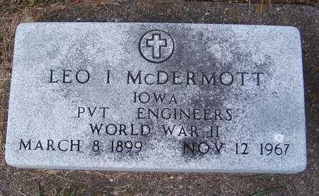 MCDERMOTT, LEO I. - Clinton County, Iowa | LEO I. MCDERMOTT