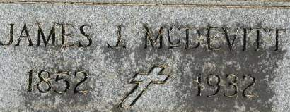 MCDEVITT, JAMES J. - Clinton County, Iowa   JAMES J. MCDEVITT