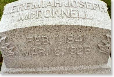 MCDONNELL, JEREMIAH JOSEPH - Clinton County, Iowa | JEREMIAH JOSEPH MCDONNELL