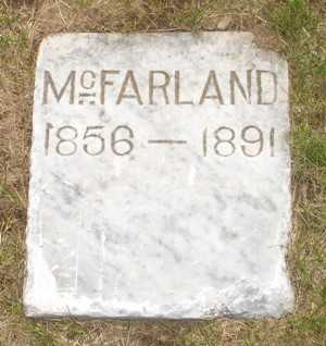 MCFARLAND, UNKNOWN - Clinton County, Iowa | UNKNOWN MCFARLAND