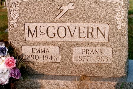 MCGOVERN, EMMA - Clinton County, Iowa | EMMA MCGOVERN