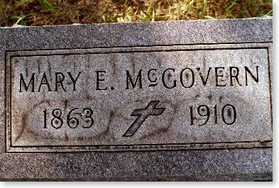 MCGOVERN, MARY E. - Clinton County, Iowa | MARY E. MCGOVERN