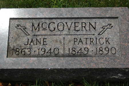 MCGOVERN, JANE - Clinton County, Iowa | JANE MCGOVERN