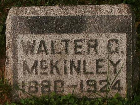 MCKINLEY, WALTER G - Clinton County, Iowa | WALTER G MCKINLEY