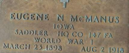 MCMANUS, EUGENE N. - Clinton County, Iowa | EUGENE N. MCMANUS