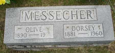 MESSECHER, OLIVE - Clinton County, Iowa | OLIVE MESSECHER