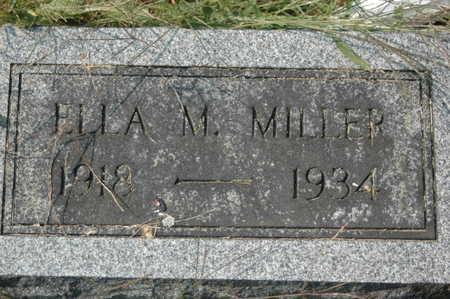 MILLER, ELLA MAE - Clinton County, Iowa | ELLA MAE MILLER