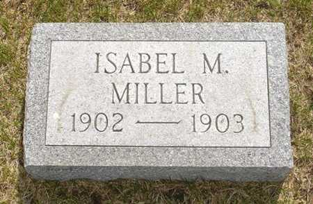 MILLER, ISABEL M. - Clinton County, Iowa | ISABEL M. MILLER