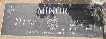 MINOR, RHONDA I. - Clinton County, Iowa | RHONDA I. MINOR
