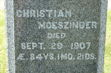 MOESZINGER, CHRISTIAN - Clinton County, Iowa | CHRISTIAN MOESZINGER