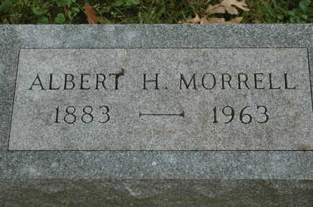MORRELL, ALBERT H. - Clinton County, Iowa | ALBERT H. MORRELL