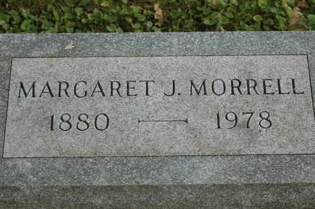 MORRELL, MARGARET J. - Clinton County, Iowa | MARGARET J. MORRELL