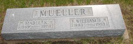 MUELLER, WILLIAM F. - Clinton County, Iowa | WILLIAM F. MUELLER