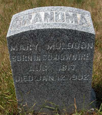 MULDOON, MARY - Clinton County, Iowa | MARY MULDOON