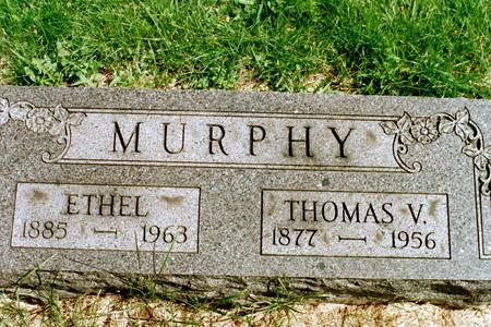 MURPHY, ETHEL DAY - Clinton County, Iowa | ETHEL DAY MURPHY