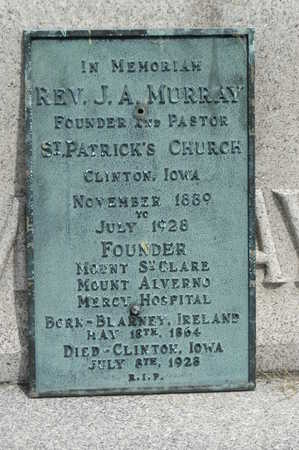 MURRAY, J.A. - Clinton County, Iowa | J.A. MURRAY