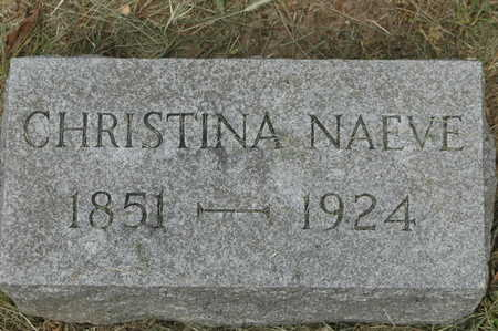 NAEVE, CHRISTINA - Clinton County, Iowa | CHRISTINA NAEVE