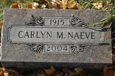 NAEVE, CAROLYN M. - Clinton County, Iowa | CAROLYN M. NAEVE