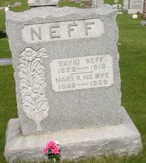 NEFF, DAVID - Clinton County, Iowa | DAVID NEFF
