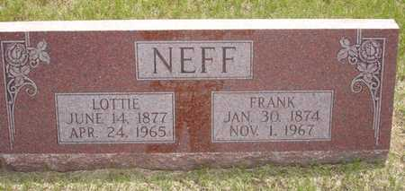 NEFF, LOTTIE - Clinton County, Iowa | LOTTIE NEFF